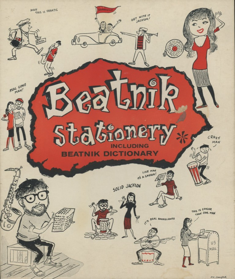 Beatnik Stationary. BEATNIKS.