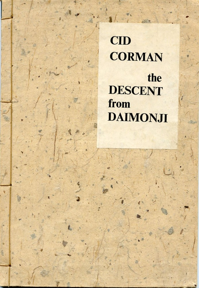 The Descent from Daimonji. Cid CORMAN.