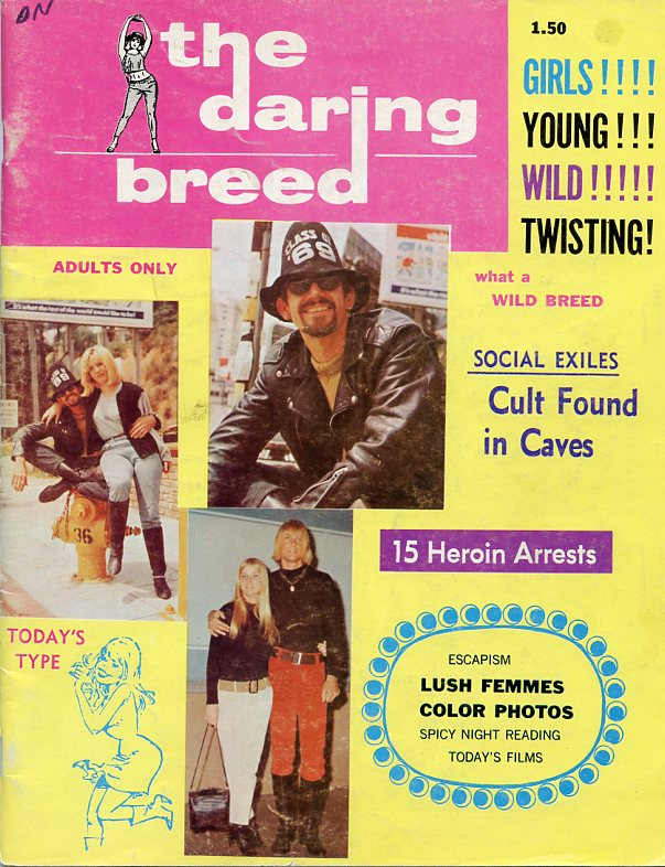 The Daring Breed, Vol. 1, No. 1, 1966. The.