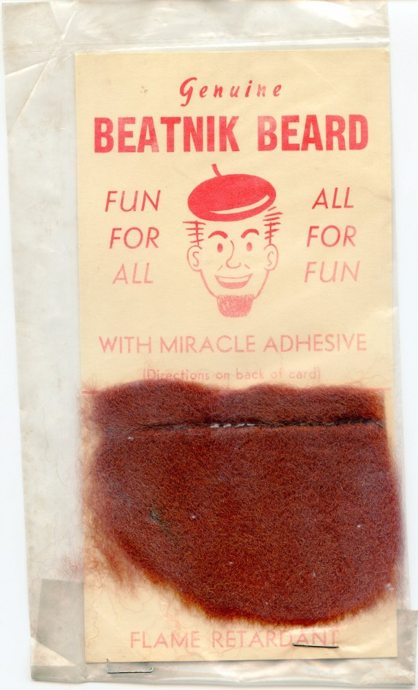 Genuine Beatnik Beard. BEATNIKS.