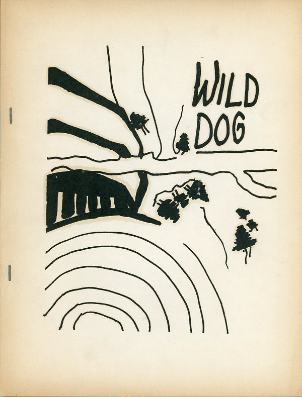 Wild Dog, No. 18, 1965. Richard BRAUTIGAN.