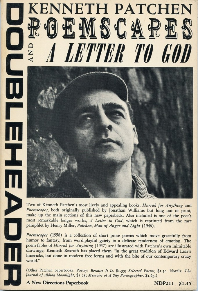 Poemscapes and A Letter to God. Kenneth PATCHEN.