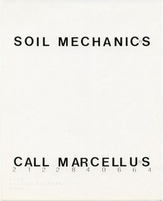 ''Soil Mechanics'' multiple by Richard Prince. Richard PRINCE.