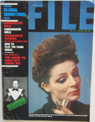 File Magazine, Vol. 4, No. 3, Summer 1980. AA BRONSON, Felix, PARTZ, Jorge a. k. a. General Idea...