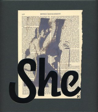 She: Works by Wallace Berman & Richard Prince. Wallace BERMAN, Richard, PRINCE, Kristine McKENNA