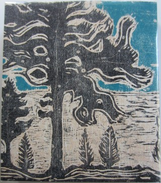 unbegreiflich aber gewiss (unknowable but certain): A Catalogue of Paintings August 2014-January 2017: Woodcut Edition.