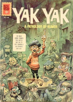 Yak Yak, Vol. 1, No. 1, 1961. The