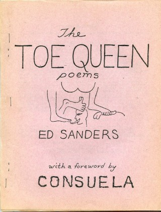The Toe Queen Poems. Ed SANDERS