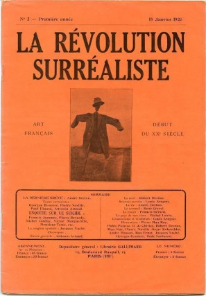 La Revolution Surrealiste, No. 2, January 1925. Andre BRETON, Benjamin PERET