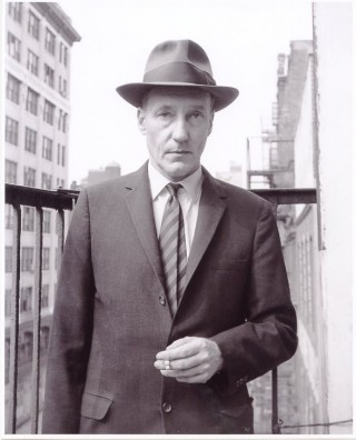 Terrific original b&w photograph of William Burroughs (recent print). William S. BURROUGHS